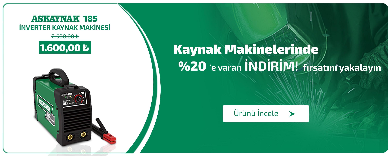 Askaynak 185 Kaynak Makinesi En Uygun Fiyat Garantisi ile Yollabana'da